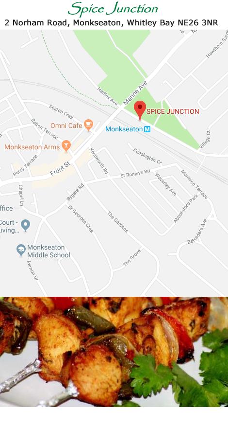Spice Junction Monkseaton, Whitley Bay   Order takeaway